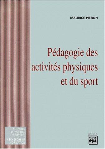Pédagogie des activités physiques et du sport