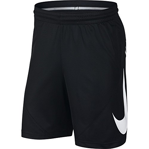 Nike Herren Basketball Shorts, Black/(White), M Basketball Shorts Schwarz Nike