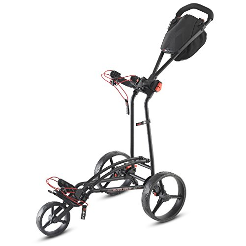 "Big Max Golftrolley Push ""Autofold FF\"" schwarz (200) 0"