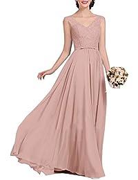7206ea6eaf01 Amazon.it  vestiti rosa antico - Vestiti   Donna  Abbigliamento