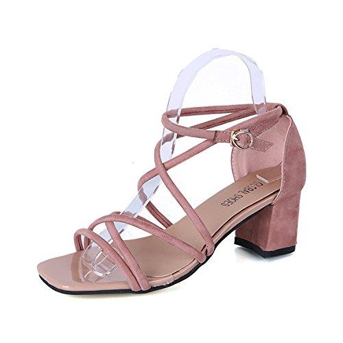 studentessa scarpe sandali sono parola scarpe migliori con spessi tacco sandali roma hollow 36
