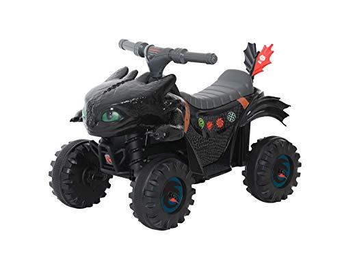 ROLLPLAY Mini Quad Électrique - Dragons, Pour enfants à partir de 2 ans, Jusqu'à max. 20 kg,...
