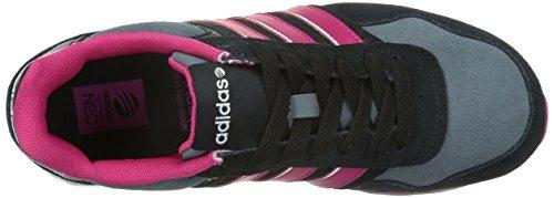 adidas 10K W Scarpe Sportive, Donna Core Black/Bold Pink/Ftwr White