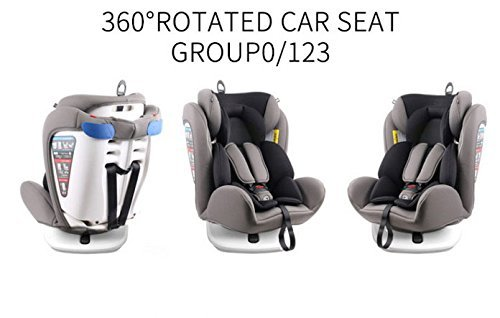 STAR Ibaby Isofix Travel – Siège Auto, Groupe 0/1/2/3 (0 – 36 kg)
