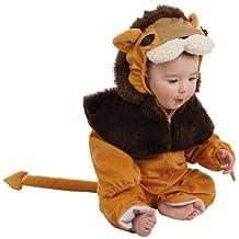 Disfraz león bebé - Único, 12 meses