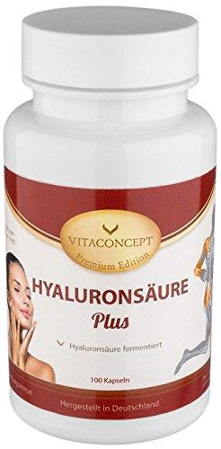 HYALURONSÄURE 150 mg (Tagesdosis) fermentiert & Mikro-Molekular * für ein glattes und straffes...