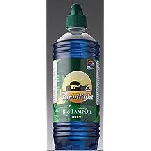 Lámpara de aceite de parafina 3 litros Farm Light color azul