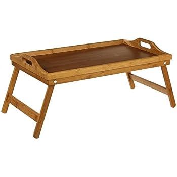 Plateau petit déjeuner dans le lit ou plateau TV dans le canapé ... Plateau en Bambou de belle qualité et finition