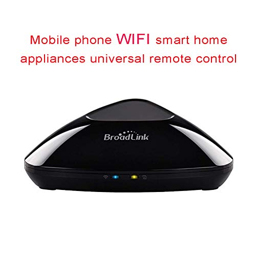 FRUZAZ WiFi Infrarot Hochfrequenz Smart Home Aappliances Universal-Fernbedienung für iOS, Android Smartphone, Tablet-Startseite/Out/Sleep/Wake-Modus Universal-Fernbedienung