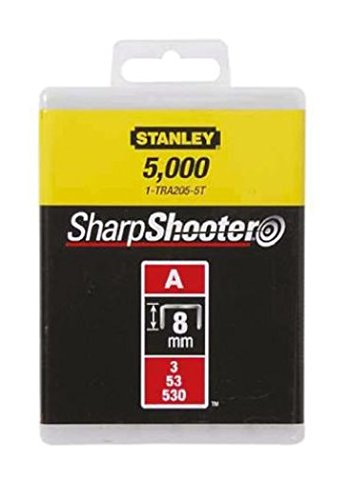 Stanley 1-TRA205-5T Agrafe 8 mm Type A Boîte 5000 pièces