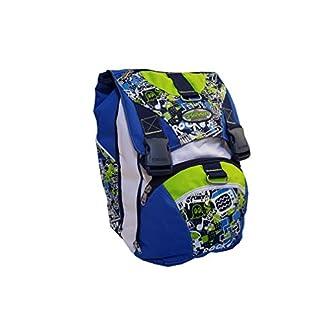 Seven – Mochila Escolar Extensible – Colores Surtidos 28 litros con Orificio para Cable USB 38 x 27 x 24 cm