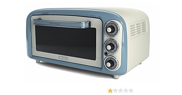 Ariete UK 979 G Vintage Retro Electric Oven Green 1380 W