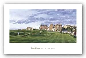 The Road Hole de Tony Harris Tirages d'Art Poster