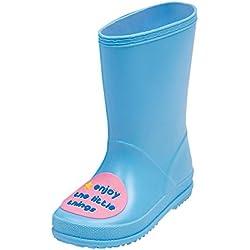 Meijunter Bambini Moda Antiscivolo Stivali da pioggia Ragazzi Ragazze Slip-On Stivali da neve Stivali di Gomma Pioggia Acqua Scarpe Stivali invernali