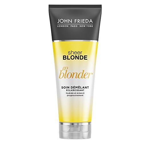 Scheda dettagliata John Frieda Sheer Blonde Go Blonder - Balsamo con effetto districante e schiarente, 250 ml