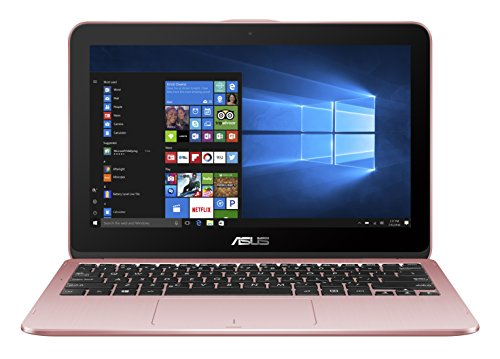 Asus VivoBook Flip 12  29,4 cm (11,6 Zoll Touch) 2-in-1 Notebook (Intel Pentium Quad-Core N4200, 4GB RAM, 1TB HDD, Intel HD Graphics, Win 10 Home) rose gold