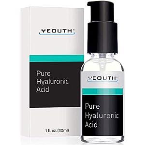 Suero Ácido Hialurónico Facial YEOUTH – Fórmula 100% pura para el antienvejecimiento!