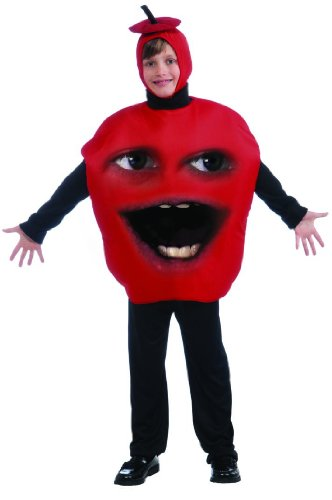 d Apple Costume Mfg3 Size: One Size Fits Most (Annoying Orange Kostüm)