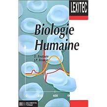 Lexique de biologie humaine