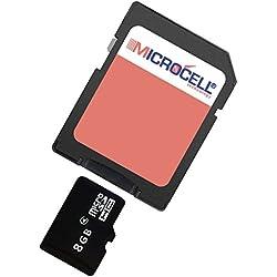 Microcell–Tarjeta de memoria de 8GB/8GB tarjeta micro SD para Sony Xperia Tablet Z/ZL