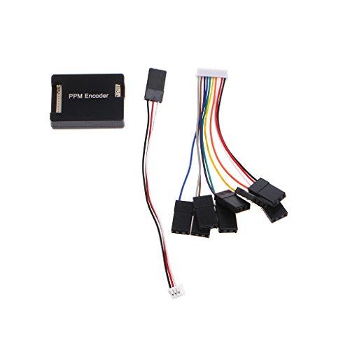 Senoow Pixhawk PPZ / MK / MWC / PPM-Encoder-Board-Decoder für RC-Empfänger Flight Controller