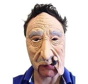 Masque latex fumeur de cigare qualité FX film mascarade