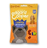 Edgard & Cooper Chicken Bites   Dry Dog Cookies   With Blueberry & Apple   Slow Cooked   Reward your dog   Grain Free   Full of Fresh Meat   15 x 50g (Multipack)