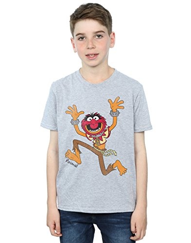 Disney Jungen The Muppets Classic Animal T-Shirt 12-13 years Sport Grey -