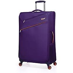 """Verage So-Lite Trolley Lila L-71 cm (28"""") Koffer Suitcase Handgepäckkoffer Reisekoffer Marken-Qualitätsware Spitzenverarbeitung Super leicht Nur 2,4kg!"""