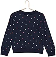 Kiabi Girls Eco-Design Printed Sweatshirt