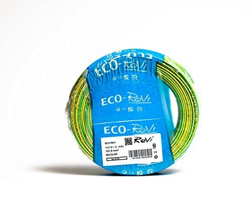 Cable FLEXIBLE LSZH (LIbre de Halógenos) H07Z1-K(AS) 1 x 1,5 mm² 100