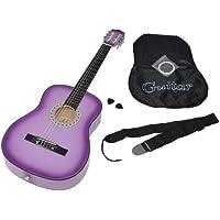 ts-ideen 5267 - Guitarra acústica clásica (incluye funda, correa, cuerdas y