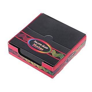 Qiuxiaoaa 100 Piece Rainbow Scratch Art Mini Notes Mit Holzstift Schaben Zeichnung Spielzeug Kunst und Handwerk für Mädchen Stocking Stuffers Art Supplies Multicolor