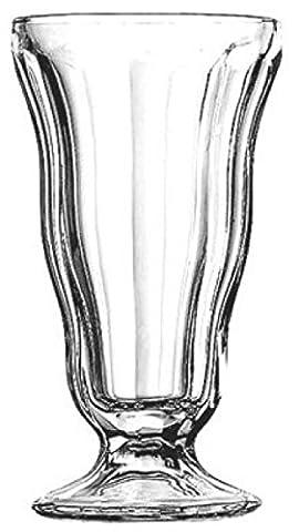 Anchor Hocking 562g Set of 6 Tall Ice Cream Sorbet Sundae Milkshake Glasses Tall Dish Cup