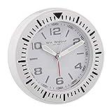 Stilvolle Bold Weiß Sport Armbanduhr Design Bett Seite Alarm Quarz Uhr (kann auch Aufhängen auf Wand)