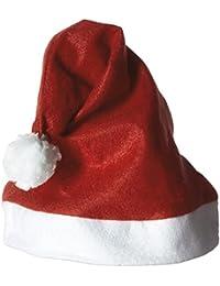 Jacobson Hat Company Men's Felt Santa Hat with Pompom