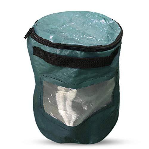 SUPERLOVE PE Manure Bag for Earthworm Horticultural Compost Bag Earthworm Nutrient Soil Culture Bag for Tea Fruit Vegetable Growth