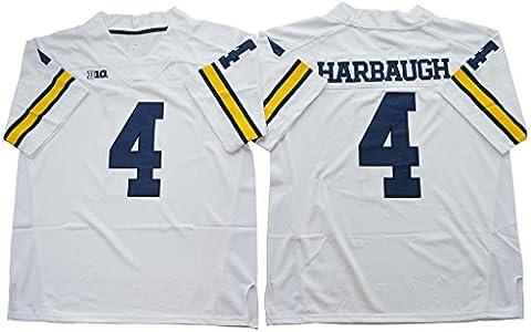 2016–2017Herren Jim Harbaugh 4College Football Limited Jersey weiß, Herren, weiß