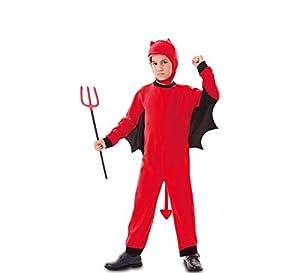 Fyasa 706196-t01disfraz de demonio, color rojo, tamaño mediano