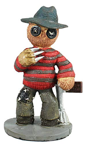colourliving Pinheadz Figur Fred Freddy Krueger Nightmare On Elm Street Horror Figur Monster Figuren