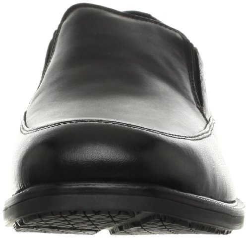 Rockport Essential Details WP Slip-On Large Cuir Mocassin Black
