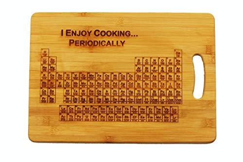 Elemente (Ich Kochen genießen... regelmäßig)'-Personalisierbares Schneidebrett ()