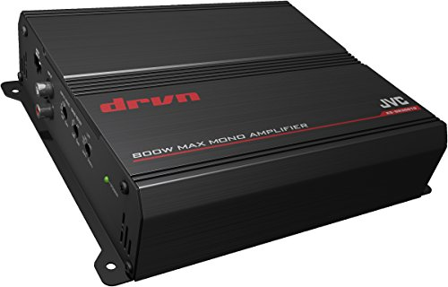 JVC KS-DR3001D Amplificatore per Auto Digitale, Nero
