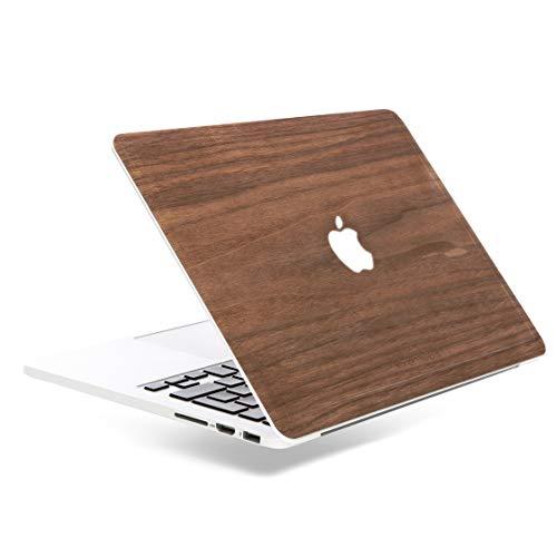 Woodcessories - Skin kompatibel mit MacBook 13 Air & Pro aus Holz - EcoSkin (Walnuss)