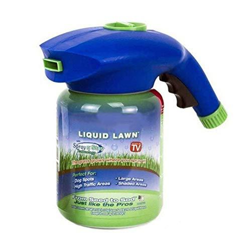 Handfly erba crescita giardino spruzzatore bottle- Lawn yard sementi spruzzatore Hydro mousse semina, l' erba cresce where you spray