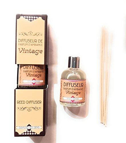 Diffuseur de parfum d'ambiance vintage - FLEUR D'ORANGER -