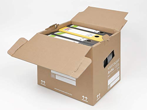 Ordner-Archiv-Box Stabiles, extrastarkes Material