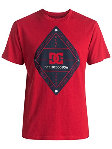 T-Shirt DC Shoes: Long Days SS RD Rosso