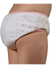 Girls Padded Brief -L-Hearts