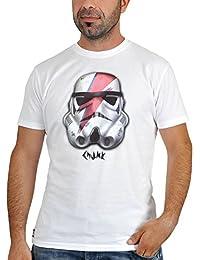 T-shirt Guerre des Etoiles Stormtrooper Rebel produit de marque chunk blanc